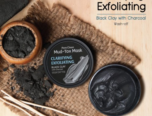 The Yeon Mud Tox Black Clay Mask With Charcoal