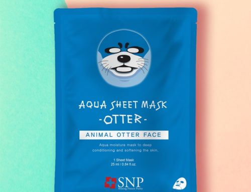 SNP Aqua Sheet Otter Mask