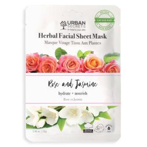 The Urban Secrets Rose and Jasmine Sheet Mask